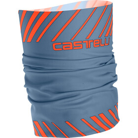 Castelli Arrivo 3 Hovedbeklædning, light steel blue/orange